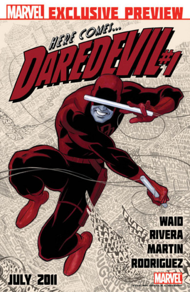 Daredevil 1 Cover