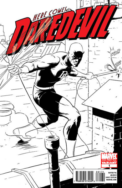 Daredevil 1 SecondCover
