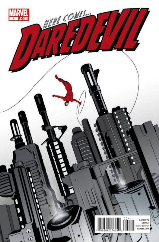 Daredevil 4 Cover