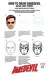 DAREDEVIL HOW TO DRAW VARIANT CVR