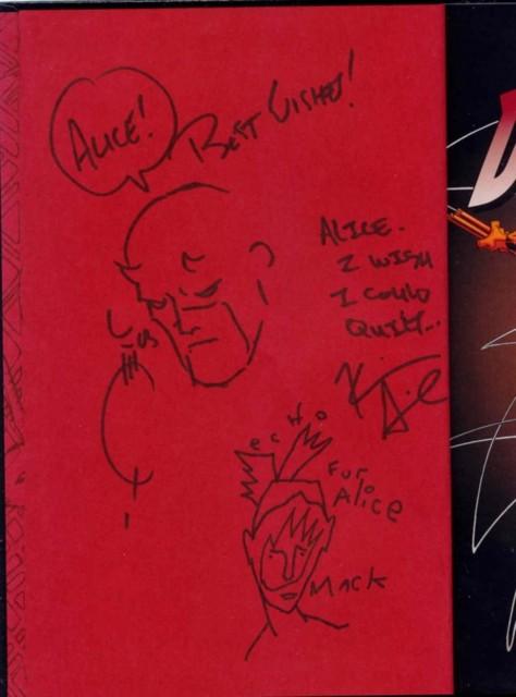 Q-S-M autographs