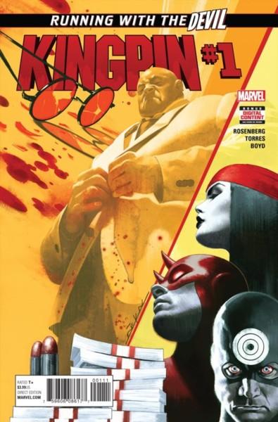 Kingpin 1 Cover