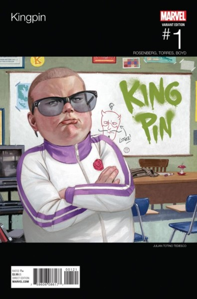 Kingpin 1 Tedesco Hip-Hop Variant