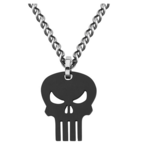 Punisher Necklace Salesone Kohls and JCP