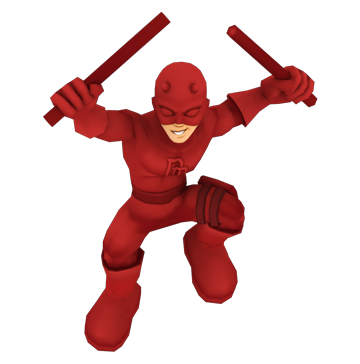 daredevil full body