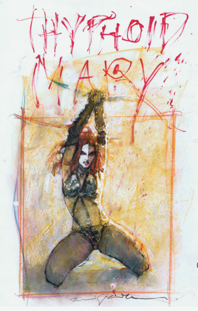 Bill Sienkiewicz - submitted by Greg Freeland II
