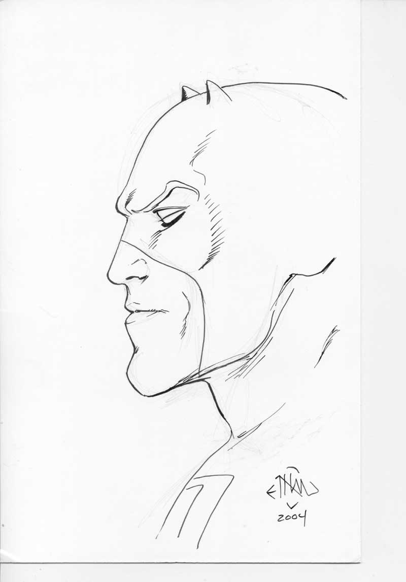 daredevil the man without fear sketches vansciver