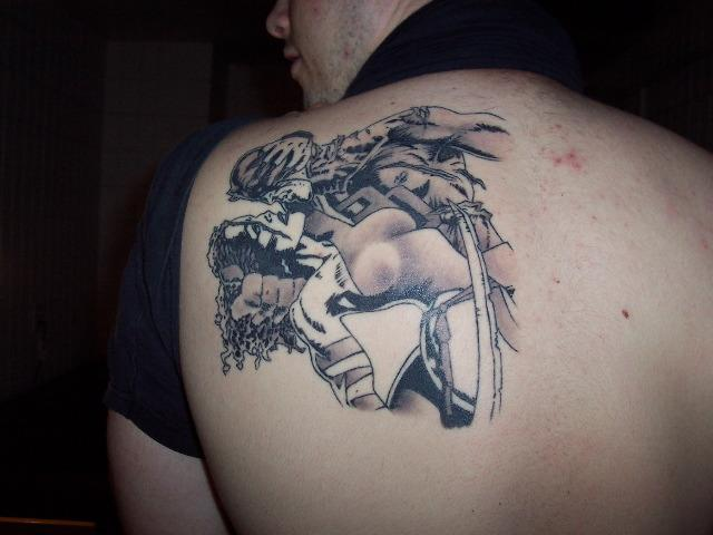 Daredevil: The Man Without Fear :: Tattoos :: JRtattoo