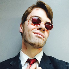 Matt Murdock Cosplay - News - Daredevil: The Man Without Fear